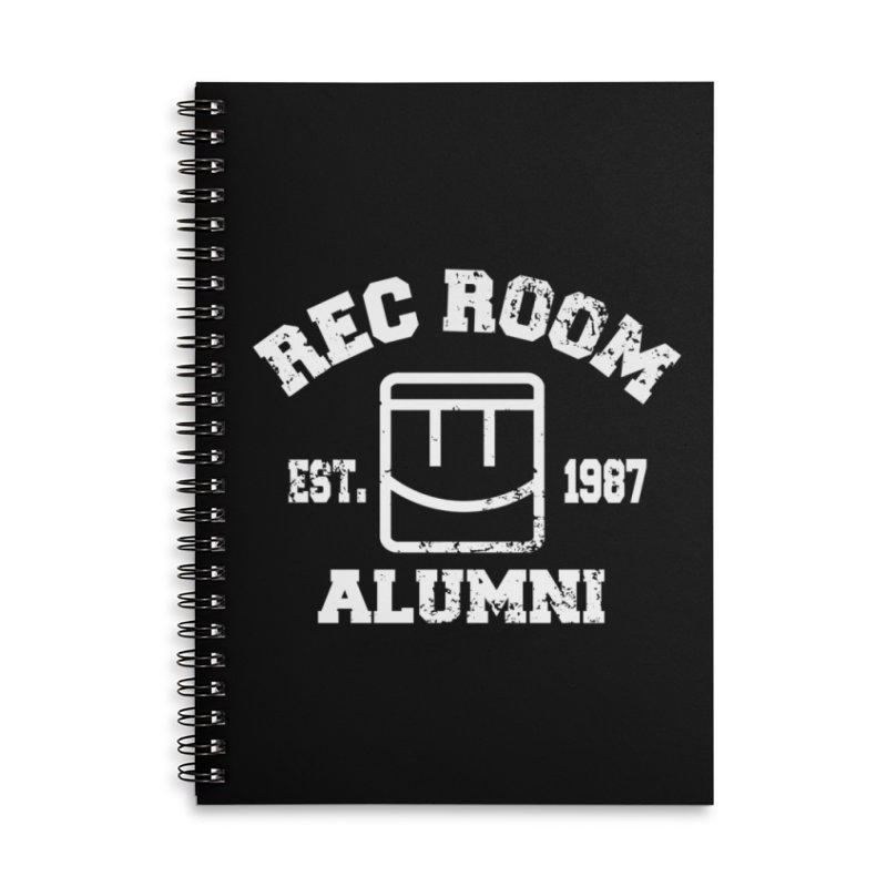 Rec Room Alumni Accessories Lined Spiral Notebook by Rec Room Official Gear