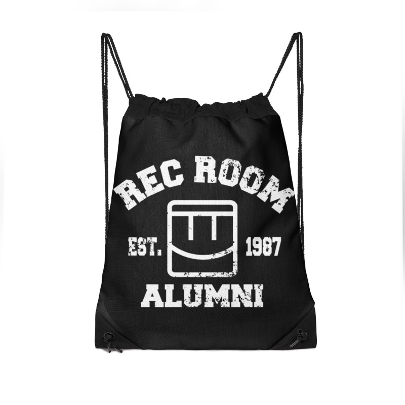 Rec Room Alumni Accessories Drawstring Bag Bag by Rec Room Official Gear