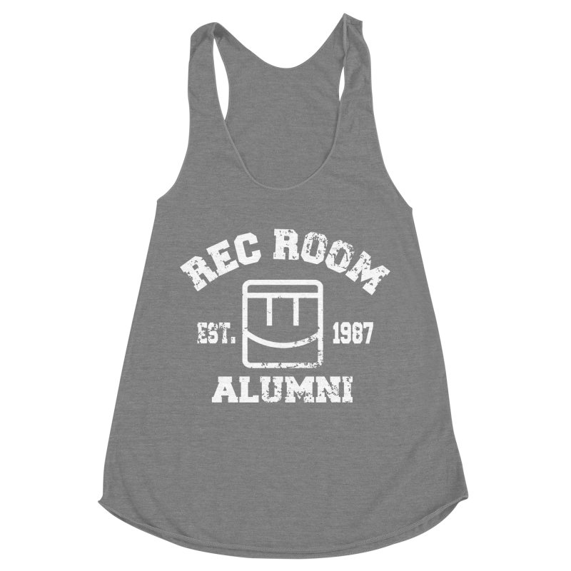 Rec Room Alumni Women's Racerback Triblend Tank by Rec Room Official Gear