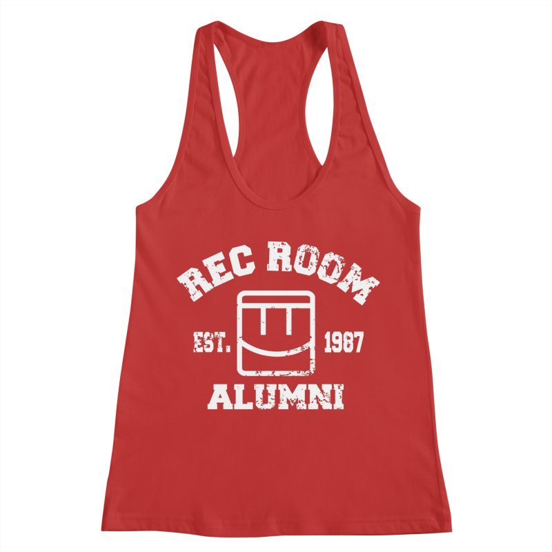 Rec Room Alumni Women's Racerback Tank by Rec Room Official Gear