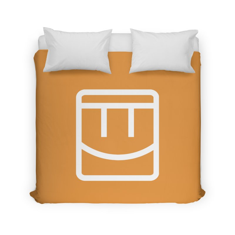 Rec Room Face Home Duvet by Rec Room Official Gear