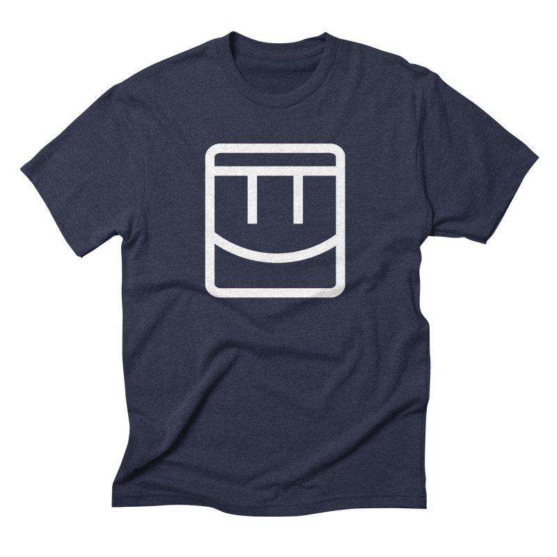 Rec Room Face Men's Triblend T-Shirt by Rec Room Official Gear