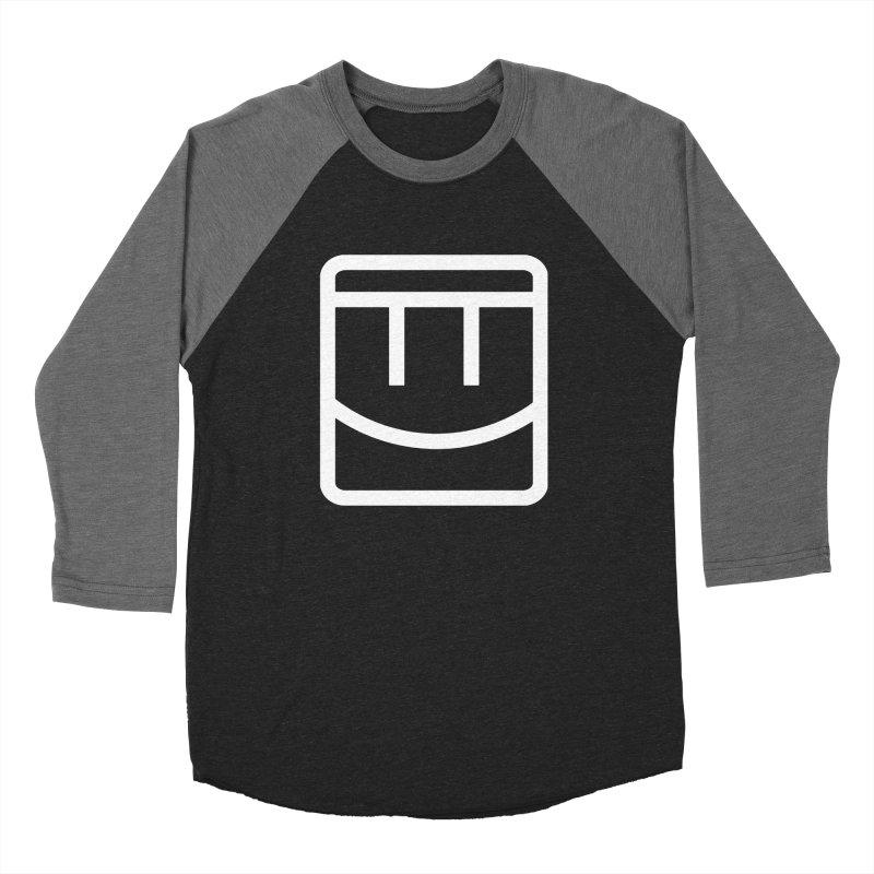 Rec Room Face Men's Baseball Triblend Longsleeve T-Shirt by Rec Room Official Gear