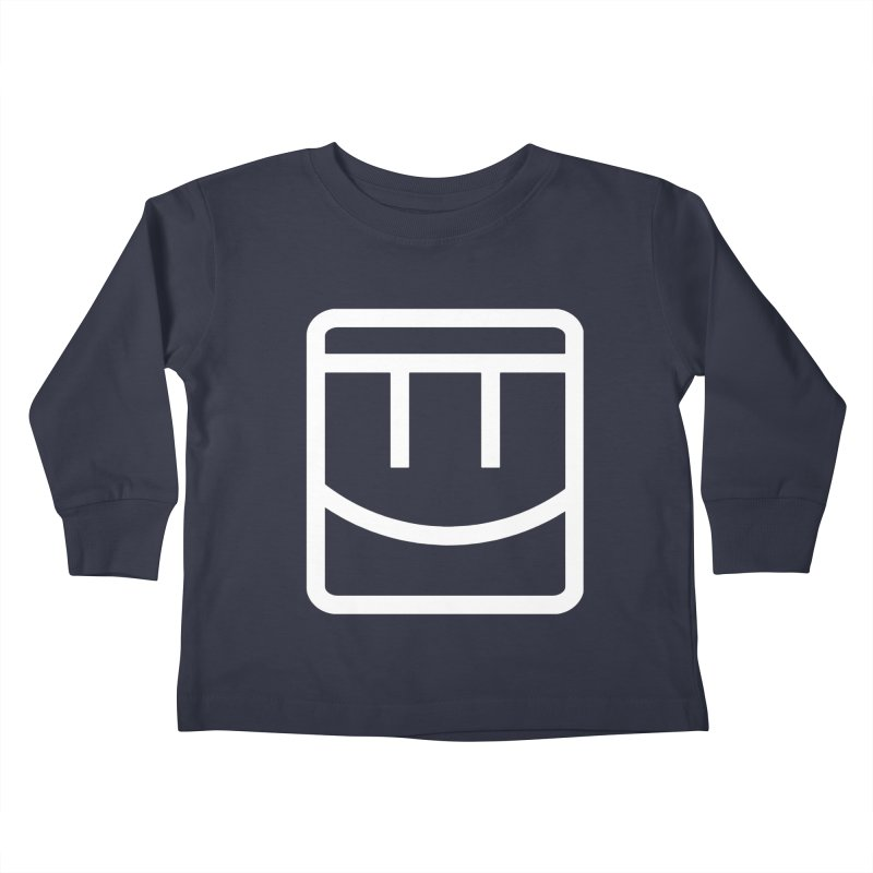 Rec Room Face Kids Toddler Longsleeve T-Shirt by Rec Room Official Gear
