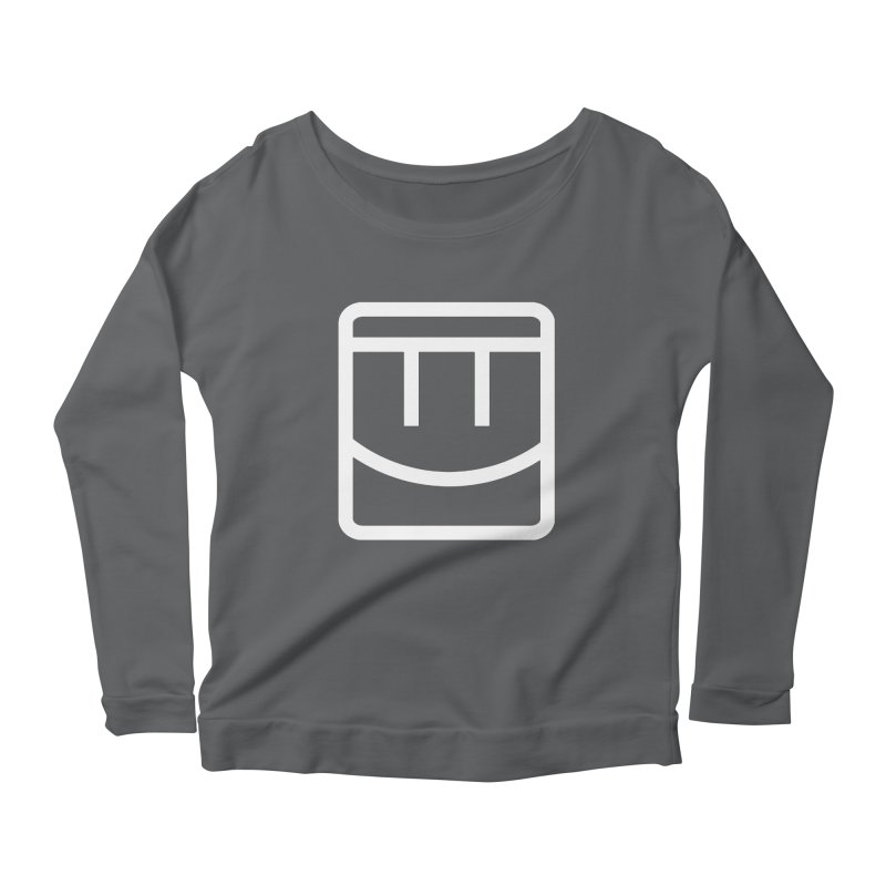 Rec Room Face Women's Scoop Neck Longsleeve T-Shirt by Rec Room Official Gear