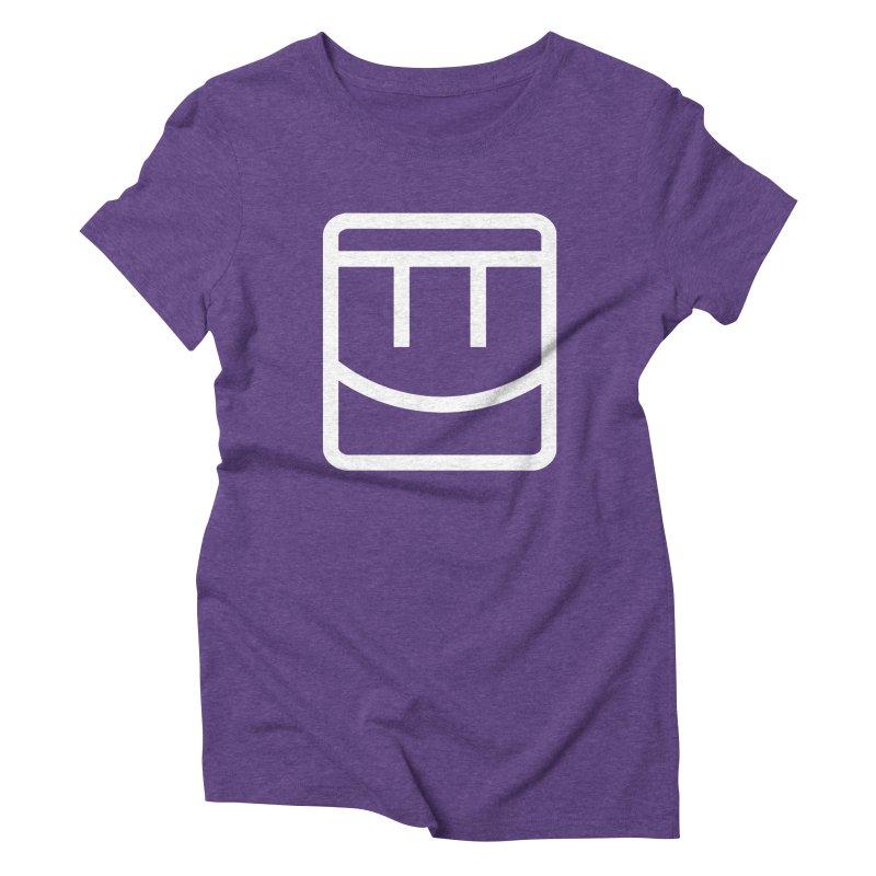 Rec Room Face Women's Triblend T-Shirt by Rec Room Official Gear