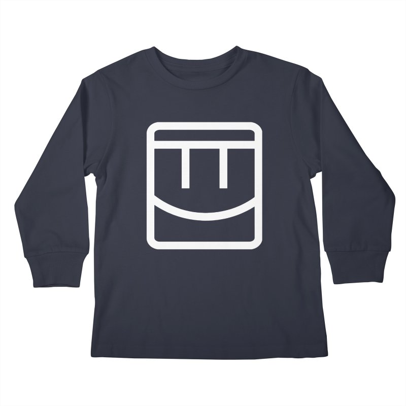 Rec Room Face Kids Longsleeve T-Shirt by Rec Room Official Gear