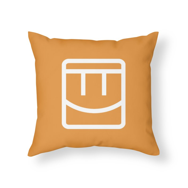 Rec Room Face Home Throw Pillow by Rec Room Official Gear