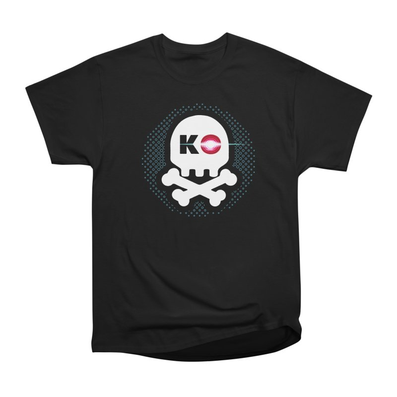 Rec Room Laser Tag KO Skull Men's Heavyweight T-Shirt by Rec Room Official Gear