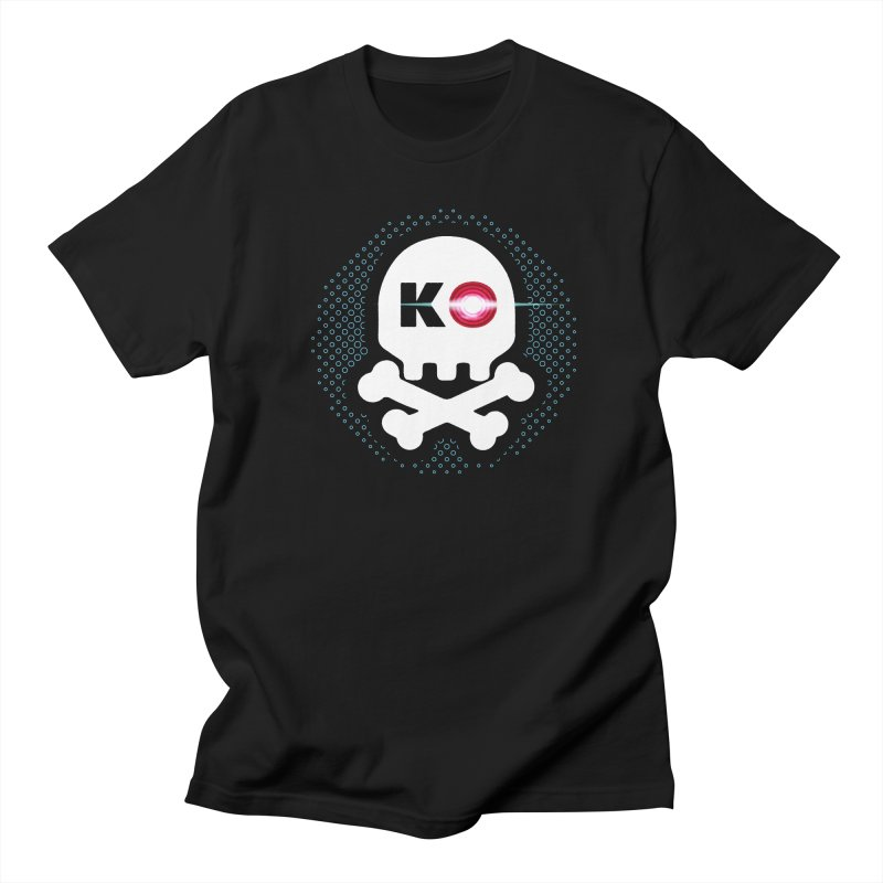 Rec Room Laser Tag KO Skull Men's Regular T-Shirt by Rec Room Official Gear