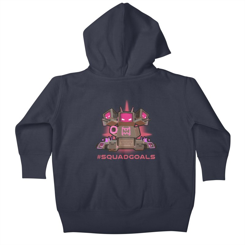 Rec Room Squadgoals Kids Baby Zip-Up Hoody by Rec Room Official Gear