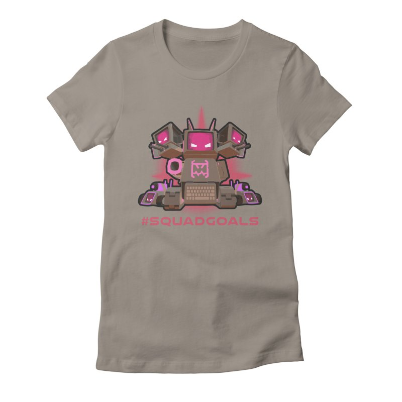 Rec Room Squadgoals Women's Fitted T-Shirt by Rec Room Official Gear