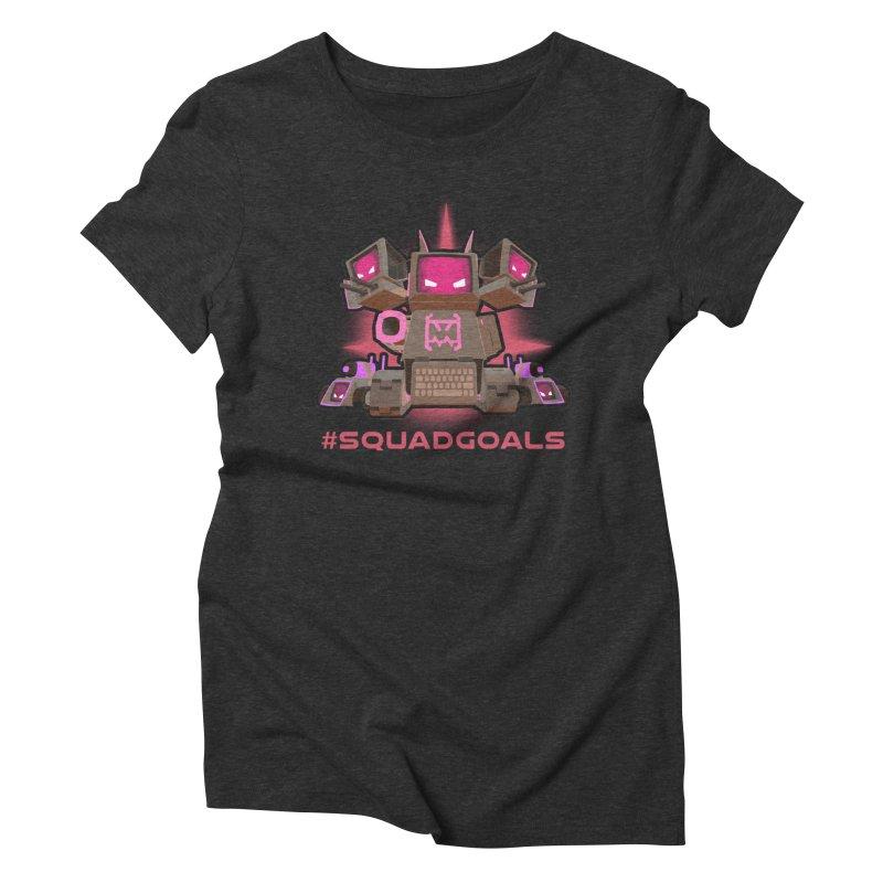 Rec Room Squadgoals Women's Triblend T-Shirt by Rec Room Official Gear