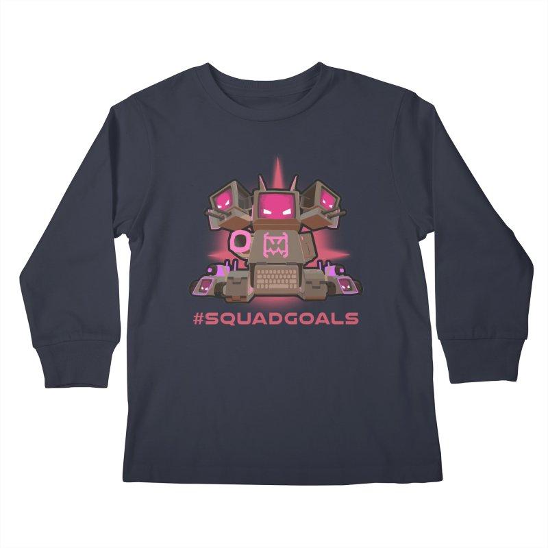 Rec Room Squadgoals Kids Longsleeve T-Shirt by Rec Room Official Gear