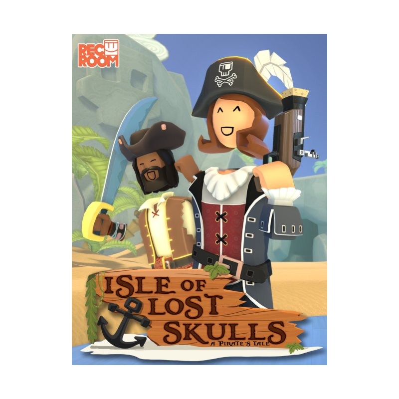 "Rec Room ""Isle of Lost Skulls"" Pirate Quest Poster   by Rec Room Official Gear"