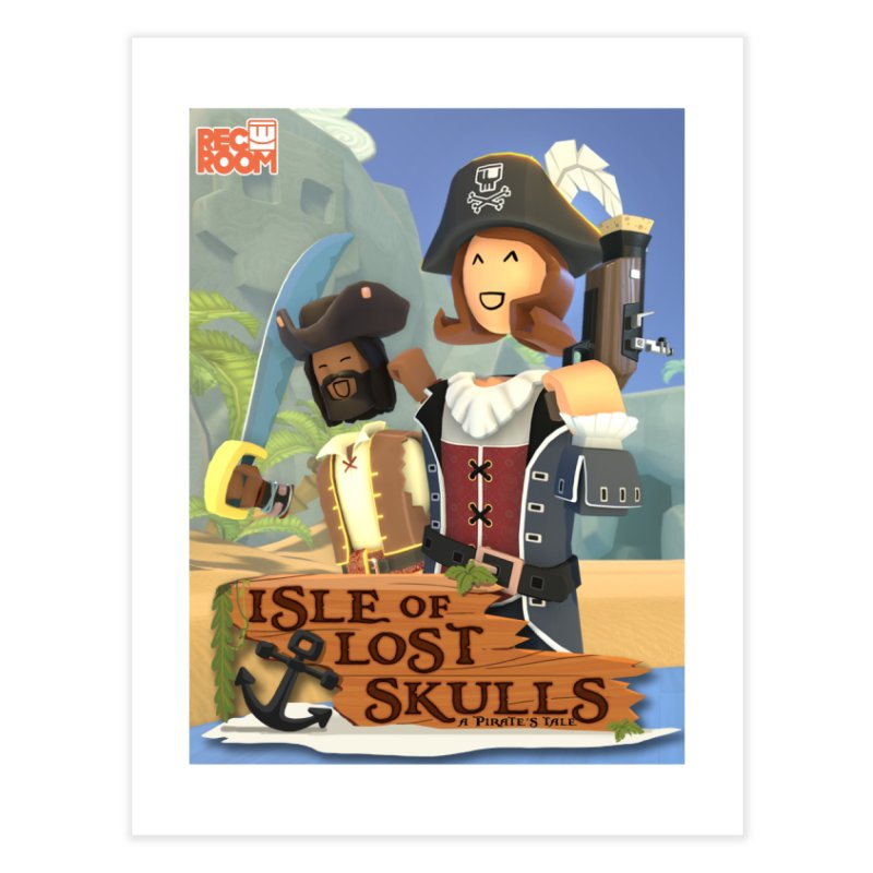 "Rec Room ""Isle of Lost Skulls"" Pirate Quest Poster Home Fine Art Print by Rec Room Official Gear"