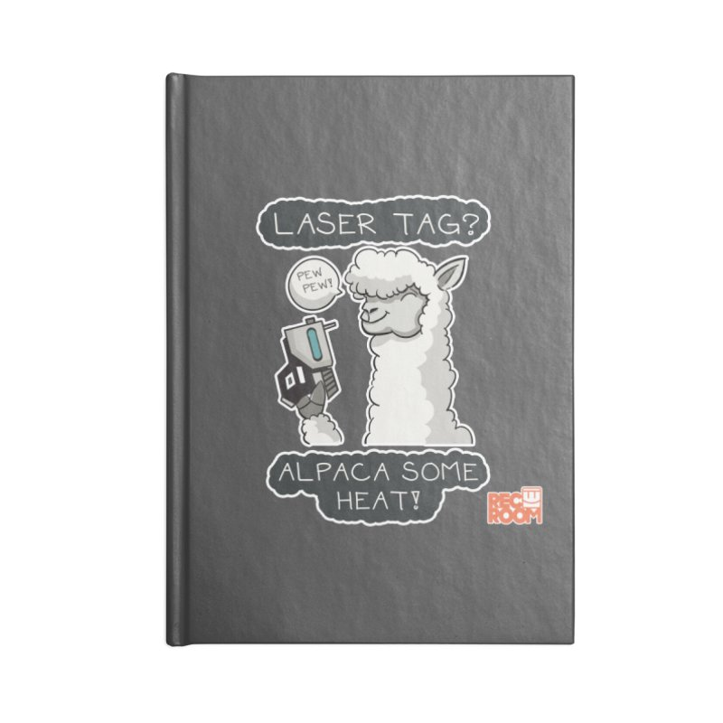 Alpaca My Shirt! Accessories Lined Journal Notebook by Rec Room Official Gear