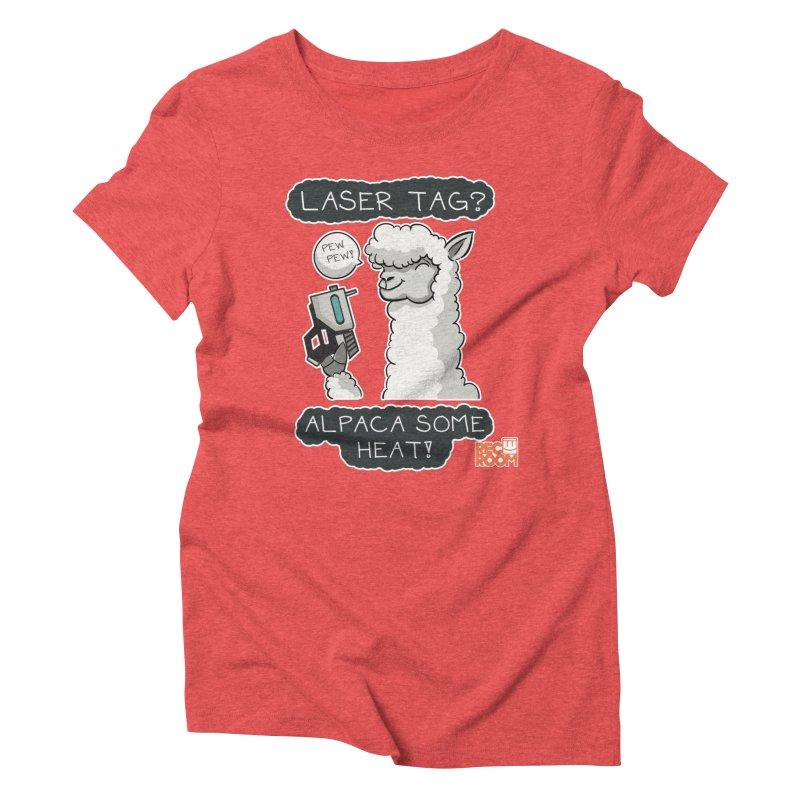 Alpaca My Shirt! Women's Triblend T-Shirt by Rec Room Official Gear