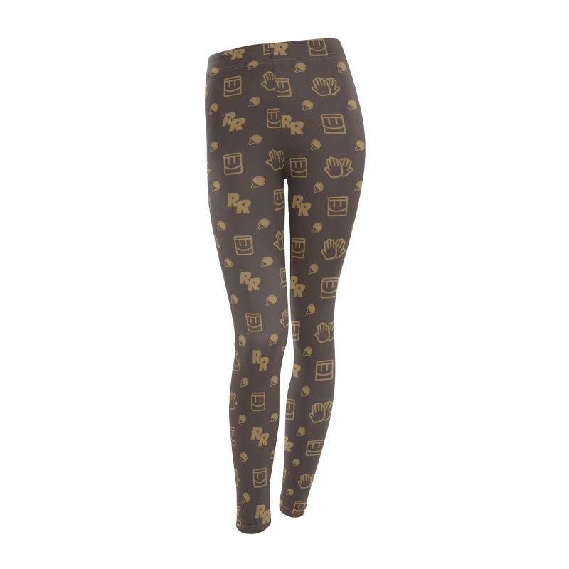 Rec Room Fashion Pattern Women's Leggings Bottoms by Rec Room Official Gear