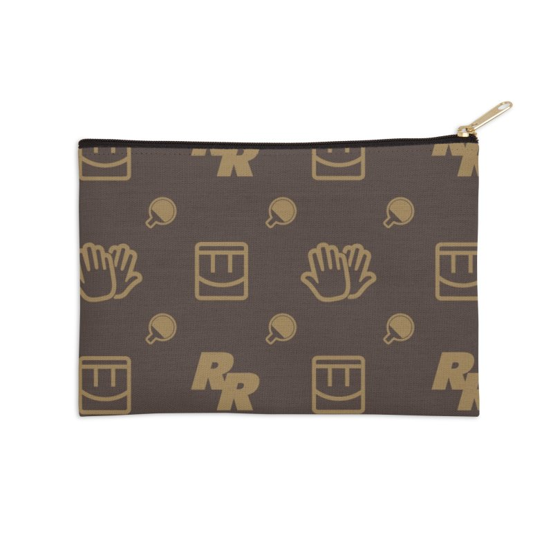Rec Room Fashion Pattern Accessories Zip Pouch by Rec Room Official Gear