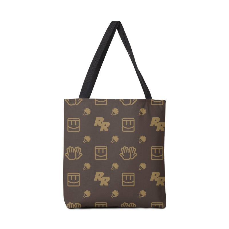 Rec Room Fashion Pattern Accessories Tote Bag Bag by Rec Room Official Gear