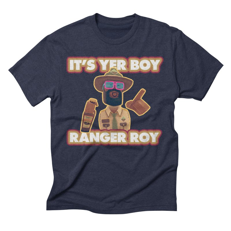 Its Yer Boy! Ranger Roy! Men's Triblend T-Shirt by Rec Room Official Gear