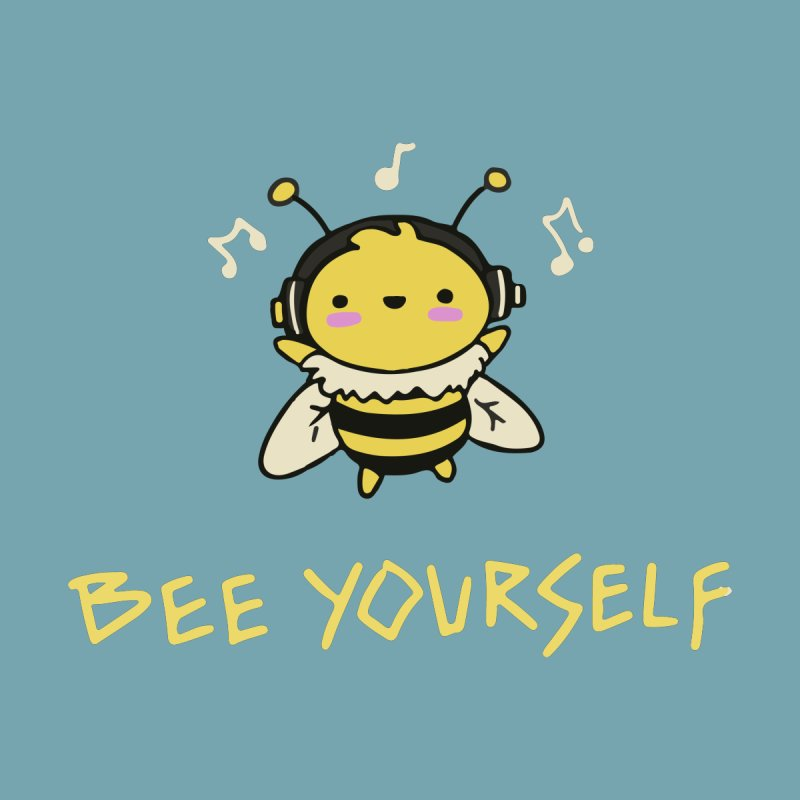 Bee Yourself! Men's T-Shirt by Rec Room Official Gear