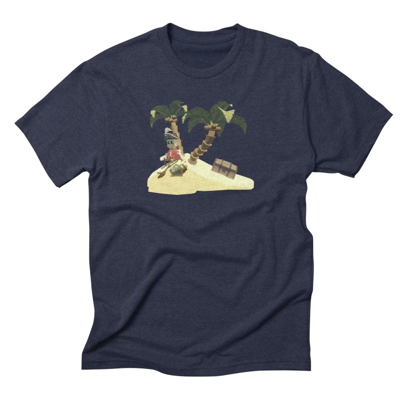 Isle of Lost Skulls Lonely Pirate shirt Men's T-Shirt by Rec Room Official Gear