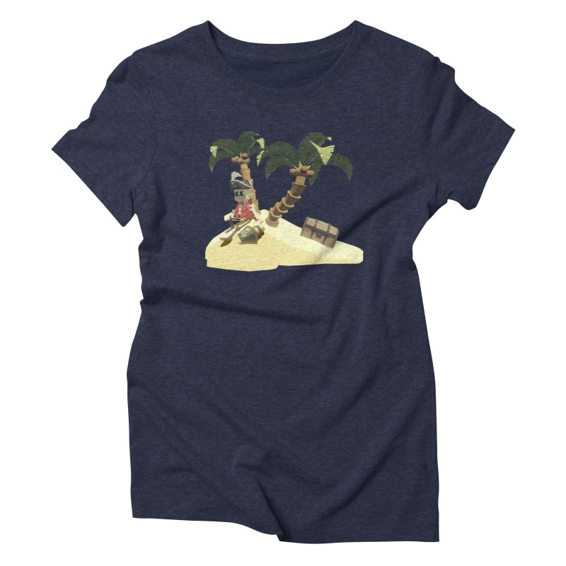 Isle of Lost Skulls Lonely Pirate shirt Women's T-Shirt by Rec Room Official Gear