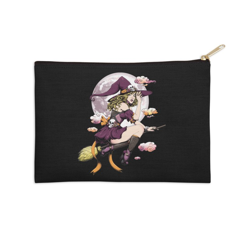 Witchcraft Accessories Zip Pouch by Red Apple Tees