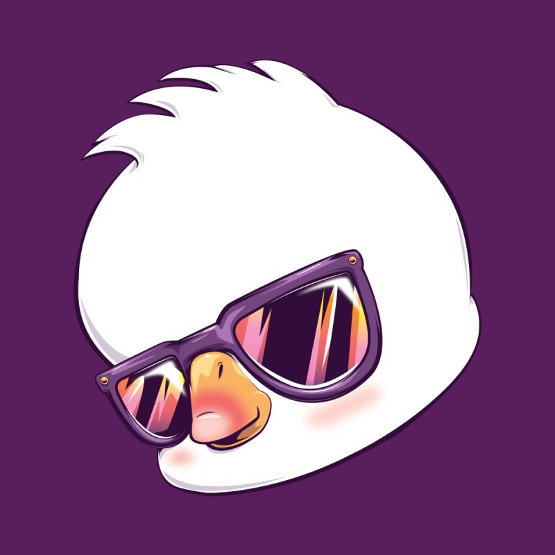dinkygoose - Sunglasses Accessories Face Mask by Red Apple Tees