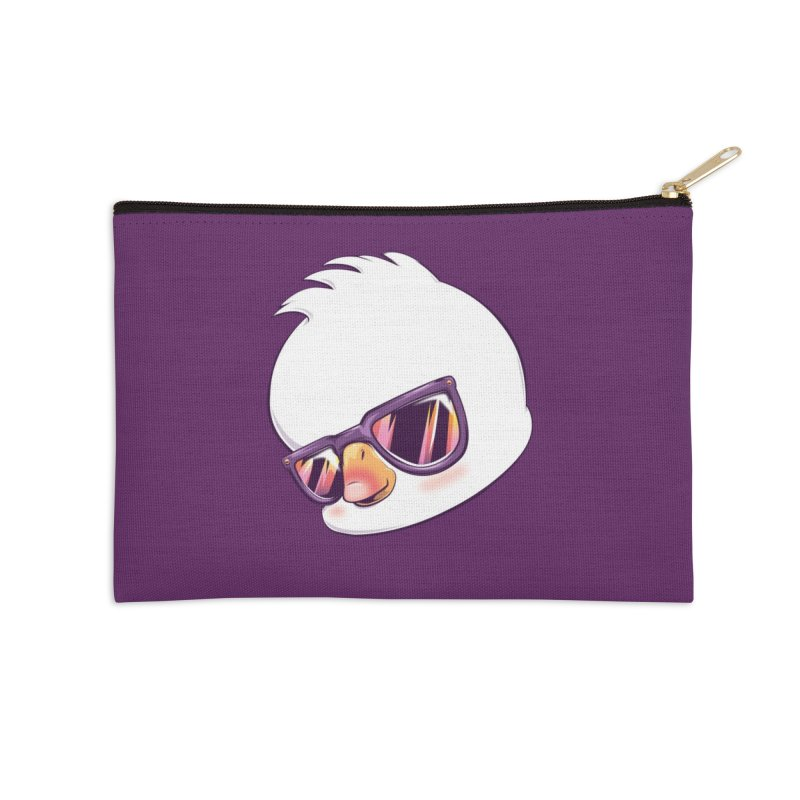 dinkygoose - Sunglasses Accessories Zip Pouch by Red Apple Tees