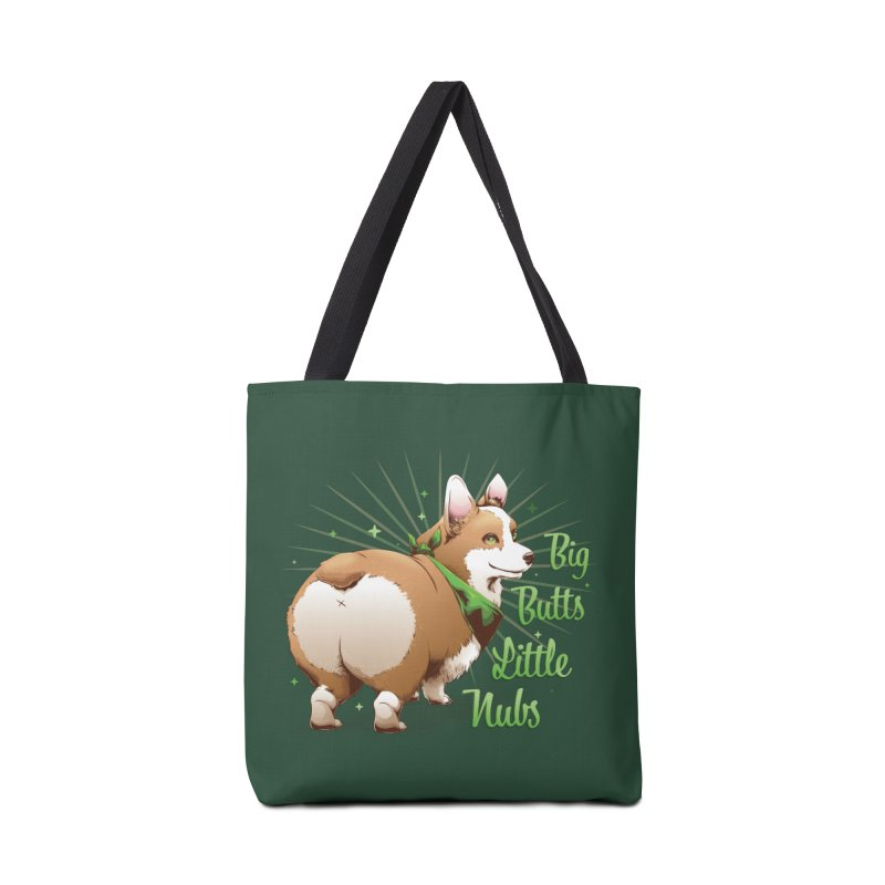 Big Butts Little Nubs - Corgi Accessories Bag by Red Apple Tees