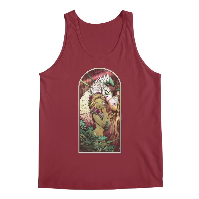 Lady of the Woods Men's Tank by Red Apple Tees