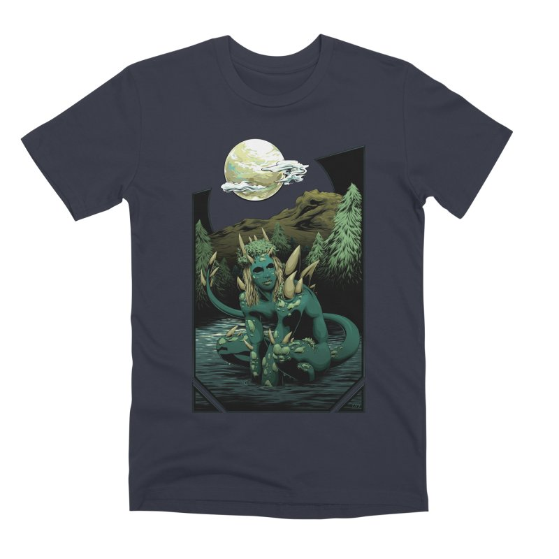 Darkness of the Swamp Men's T-Shirt by Red Apple Tees