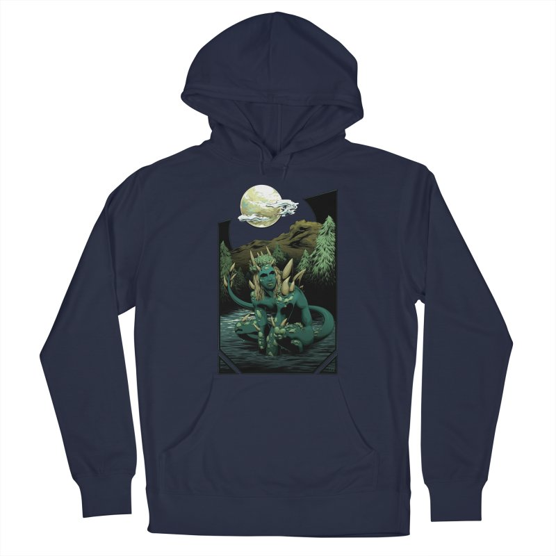 Darkness of the Swamp Men's Pullover Hoody by Red Apple Tees