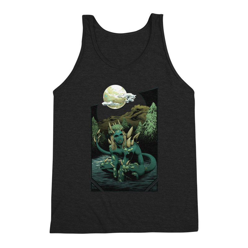 Darkness of the Swamp Men's Tank by Red Apple Tees