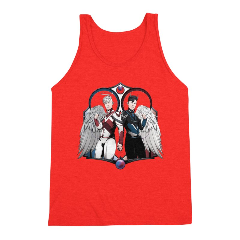 Holy and Fallen Men's Tank by Red Apple Tees