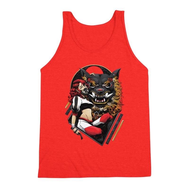 Beast Keeper Men's Tank by Red Apple Tee's