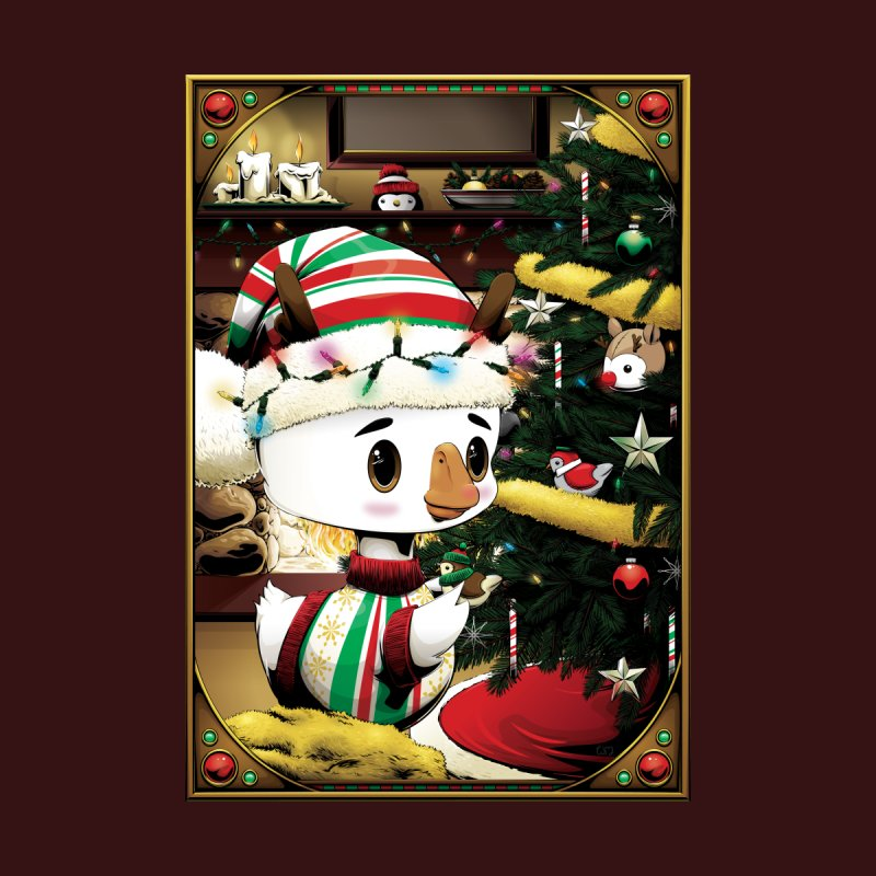 Holiday Season with dinkygoose Home Mounted Acrylic Print by Red Apple Tees