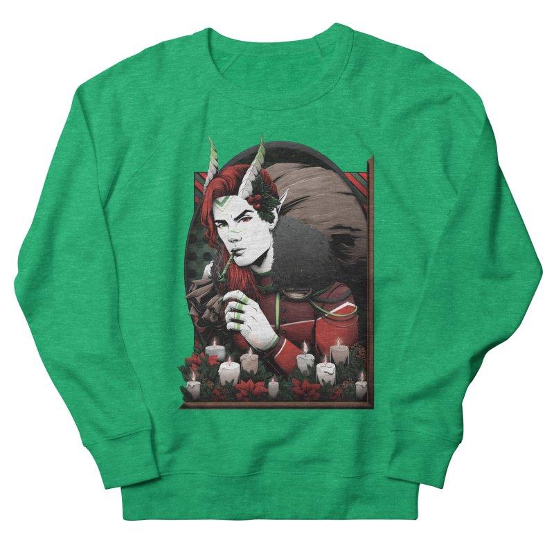 Krampus Women's Sweatshirt by Red Apple Tee's