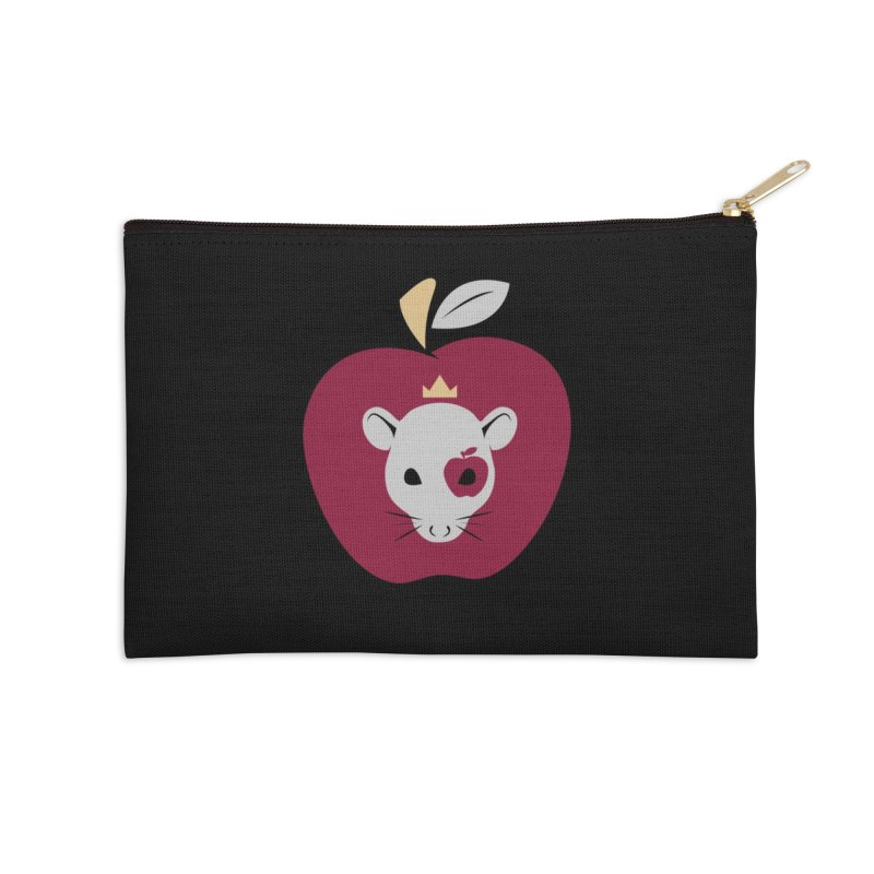 Red Apple Tee's Icon Accessories Zip Pouch by Red Apple Tees