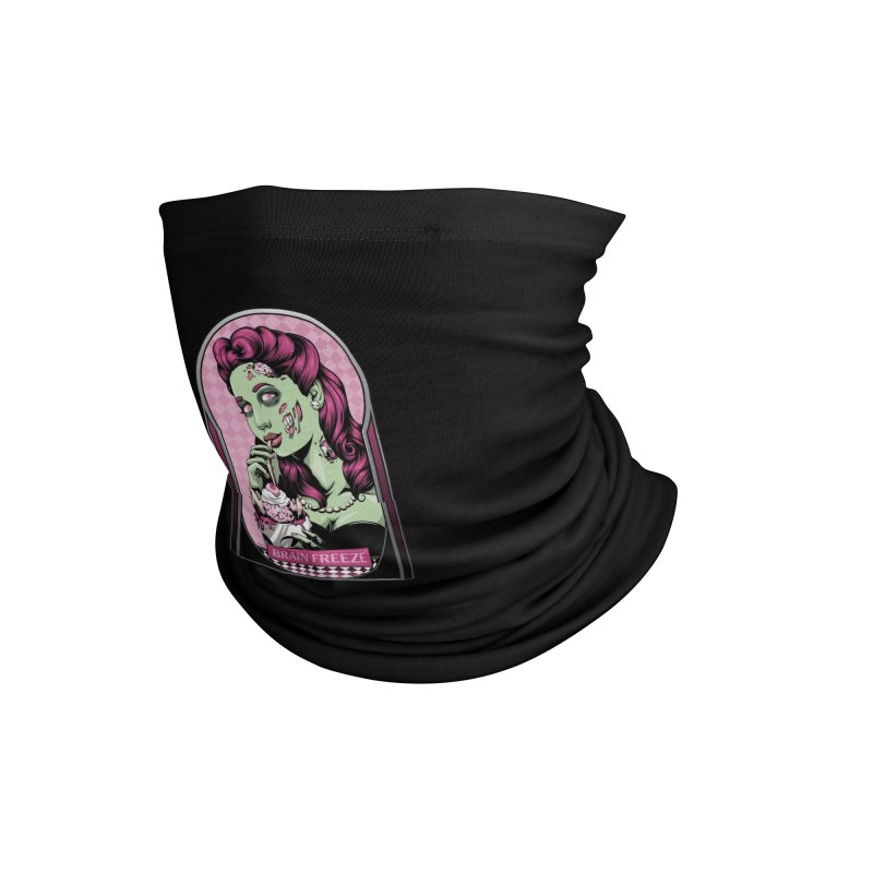 Brain Freeze Accessories Neck Gaiter by Red Apple Tees