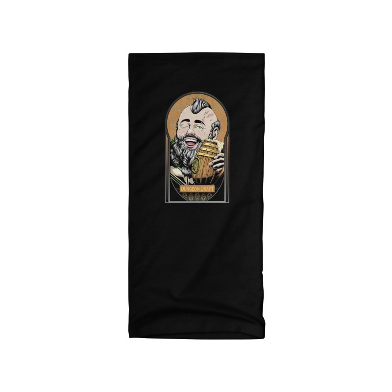 Dungeon Draft Accessories Neck Gaiter by Red Apple Tees