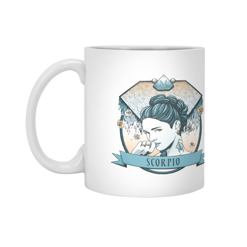 Scorpio Accessories Mug by Red Apple Tee's