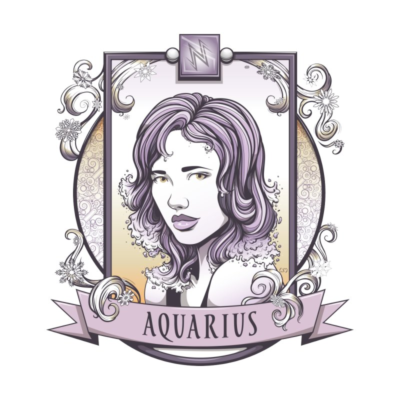 Aquarius Accessories Magnet by Red Apple Tees