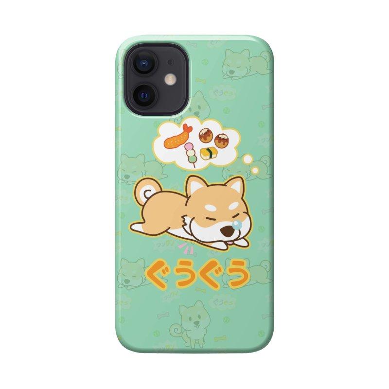 A Dog's Delectable Dreams (Shiba Inu Wan Wan) Accessories Phone Case by Redbeanfiend's Artist Shop