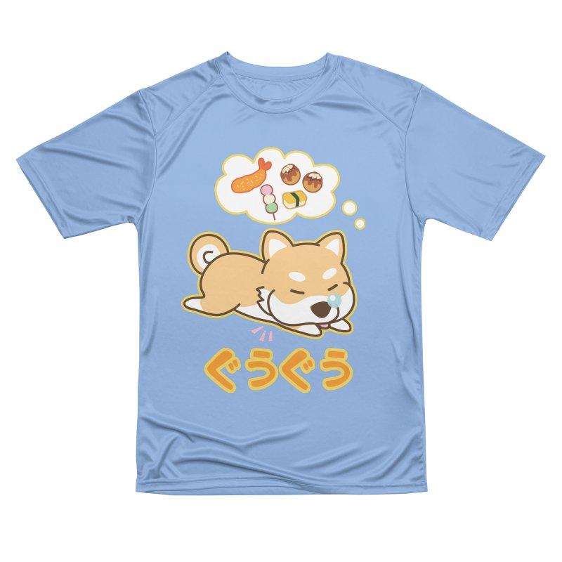 A Dog's Delectable Dreams (Shiba Inu Wan Wan) Men's T-Shirt by Redbeanfiend's Artist Shop