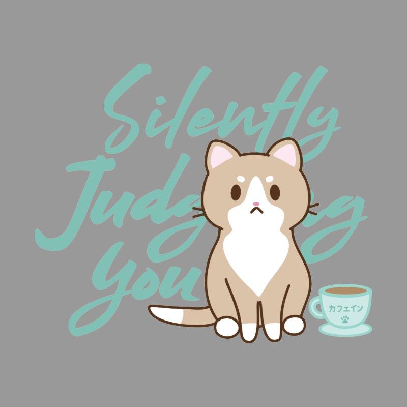Kafein the Cat is Judging you Men's T-Shirt by Redbeanfiend's Artist Shop