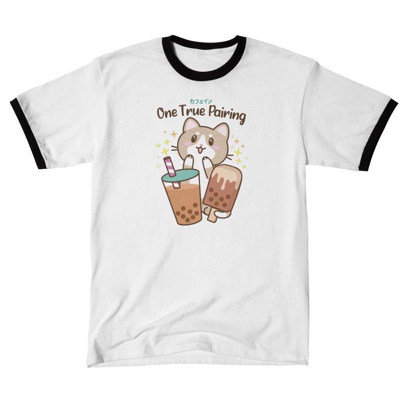 Kafein - Boba Tea OTP Men's T-Shirt by Redbeanfiend's Artist Shop